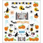 Sticker King - Clear Stickers - Halloween - Boo