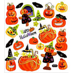 Sticker King - Clear Stickers - Happy Halloween