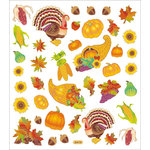 Sticker King - Clear Stickers - Thanksgiving Fest
