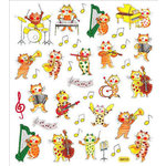 Sticker King - Clear Stickers - Jazz Alley Cats