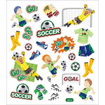 Sticker King - Clear Stickers - Soccer