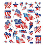 Sticker King - Clear Stickers - Patriotic