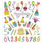 Sticker King - Clear Stickers - Happy Birthday Celebration