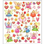 Sticker King - Cardstock Stickers - Garden Fairies