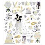 Sticker King - Cardstock Stickers - Wedding Dance