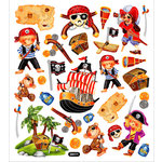 Sticker King - Clear Stickers - Pirate Boys