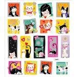 Sticker King - Cardstock Stickers - Pretty Kittys