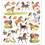 Sticker King - Cardstock Stickers - Horses on Farm