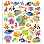 Sticker King - Clear Stickers - Reef Fish