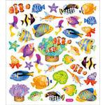 Sticker King - Clear Stickers - Reef Fish