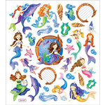 Sticker King - Clear Stickers - Mystical Mermaids