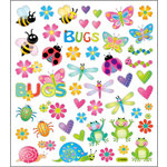 Sticker King - Clear Stickers - Bugs in Color