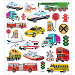 Sticker King - Cardstock Stickers - Transportation