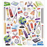 Sticker King - Clear Stickers - School Icons