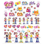 Sticker King - Clear Stickers with Foil Accents - Best Friends