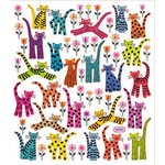 Sticker King - Clear Stickers with Foil Accents - Kit Kats