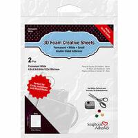 3L - 3D Foam Creative Sheets - White - Thin
