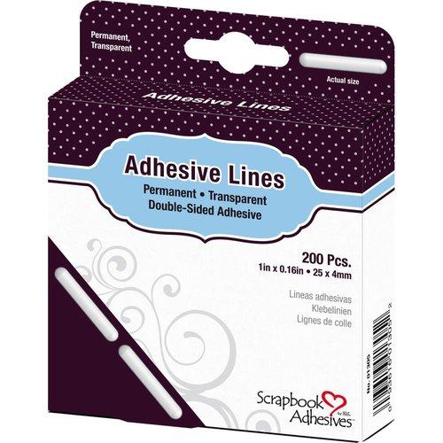 3L - Scrapbook Adhesives - Adhesive Lines - 1 Inch