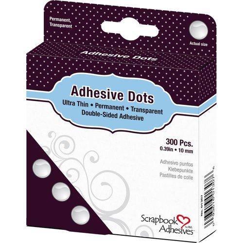 3L - Scrapbook Adhesives - Adhesive Dots - Medium - Ultra Thin