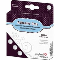 3L - Scrapbook Adhesives - Adhesive Dots - Medium - Ultra Thin