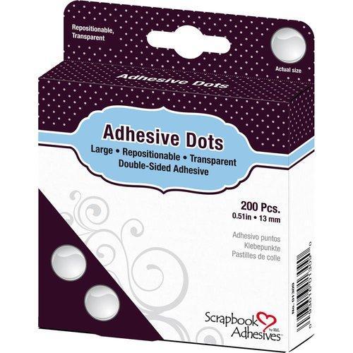 3L - Scrapbook Adhesives - Adhesive Dots - Large - Repositionable