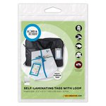 3L - Scrapbook Adhesives - Home and Hobby - Self Laminating Tags with Loop
