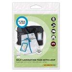 3L - Scrapbook Adhesives - Home and Hobby - Self Laminating Tags with Loop