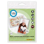 3L - Scrapbook Adhesives - Home and Hobby - Self Laminating Pouches - Cards - Small