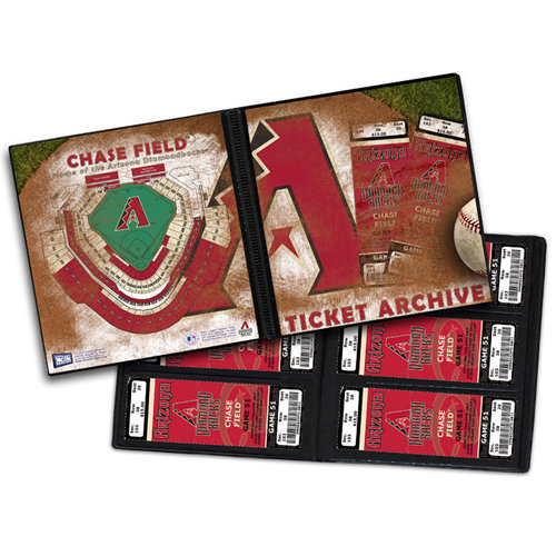 That's My Ticket - Major League Baseball Collection - 8 x 8 Ticket Album - Arizona Diamondbacks