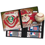 That's My Ticket - Major League Baseball Collection - 8 x 8 Mascot Ticket Album - Arizona Diamondbacks - Baxter the Bobcat