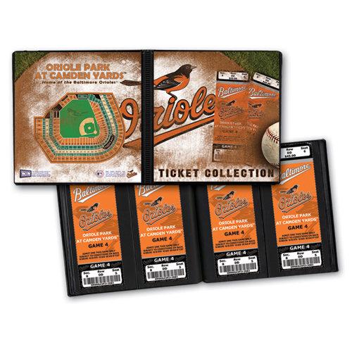 That's My Ticket - Major League Baseball Collection - 8 x 8 Ticket Album - Baltimore Orioles