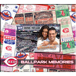 That's My Ticket - Major League Baseball Collection - 8 x 8 Postbound Scrapbook and Photo Album - Cincinnati Reds