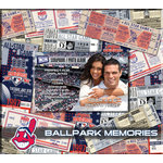 That's My Ticket - Major League Baseball Collection - 8 x 8 Postbound Scrapbook and Photo Album - Cleveland Indians