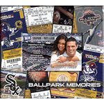 That's My Ticket - Major League Baseball Collection - 8 x 8 Postbound Scrapbook and Photo Album - Chicago White Sox
