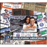 That's My Ticket - Major League Baseball Collection - 8 x 8 Postbound Scrapbook and Photo Album - Detroit Tigers
