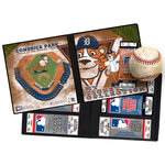 That's My Ticket - Major League Baseball Collection - 8 x 8 Mascot Ticket Album - Detroit Tigers - Paws