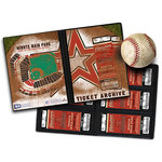 That's My Ticket - Major League Baseball Collection - 8 x 8 Ticket Album - Houston Astros