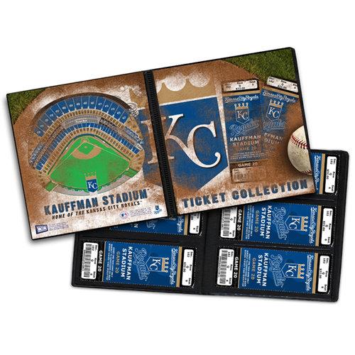 That's My Ticket - Major League Baseball Collection - 8 x 8 Ticket Album - Kansas City Royals
