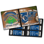 That's My Ticket - Major League Baseball Collection - 8 x 8 Ticket Album - Kansas City Royals