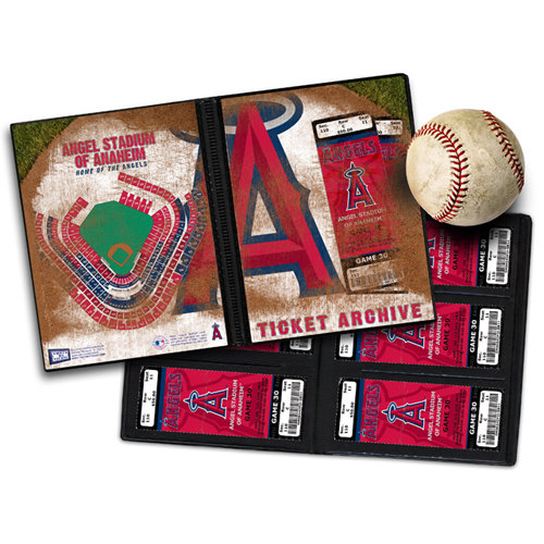 That's My Ticket - Major League Baseball Collection - 8 x 8 Ticket Album - Los Angeles Angels of Anaheim