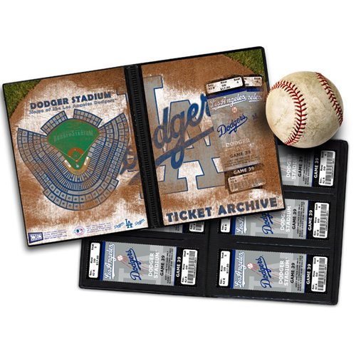 That's My Ticket - Major League Baseball Collection - 8 x 8 Ticket Album - Los Angeles Dodgers