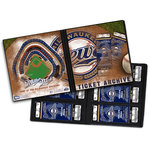 That's My Ticket - Major League Baseball Collection - Ticket Album - Milwaukee Brewers