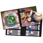 That's My Ticket - Major League Baseball Collection - Mascot Ticket Album - Minnesota Twins - T.C. Bear