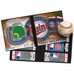 That's My Ticket - Major League Baseball Collection - Ticket Album - Minnesota Twins