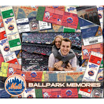 That's My Ticket - Major League Baseball Collection - 8 x 8 Postbound Scrapbook and Photo Album - New York Mets