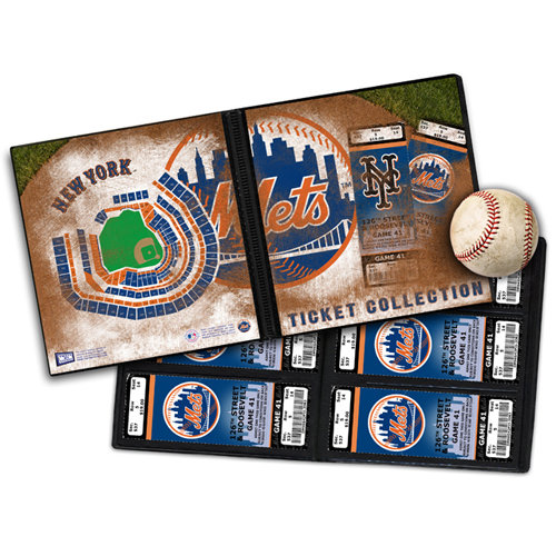 That's My Ticket - Major League Baseball Collection - 8 x 8 Ticket Album - New York Mets - Citi Field