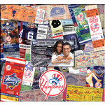 That's My Ticket - Major League Baseball Collection - 12 x 12 Postbound Scrapbook and Photo Album - New York Yankees