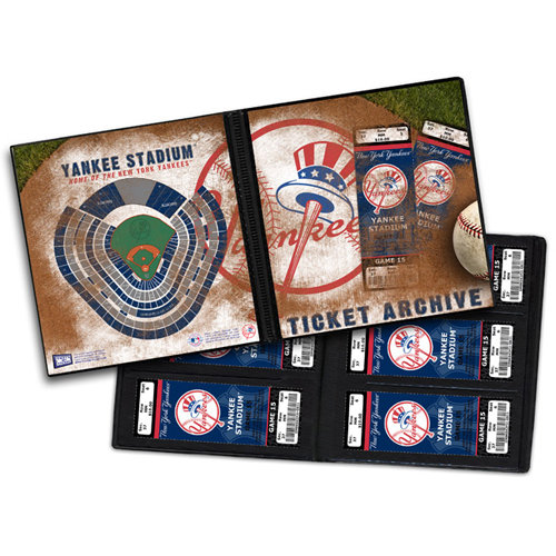 That's My Ticket - Major League Baseball Collection - 8 x 8 Ticket Album - New York Yankees