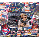 That's My Ticket - Major League Baseball Collection - 8 x 8 Postbound Scrapbook and Photo Album - Philadelphia Phillies