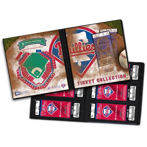 That's My Ticket - Major League Baseball Collection - 8 x 8 Ticket Album - Philadelphia Phillies